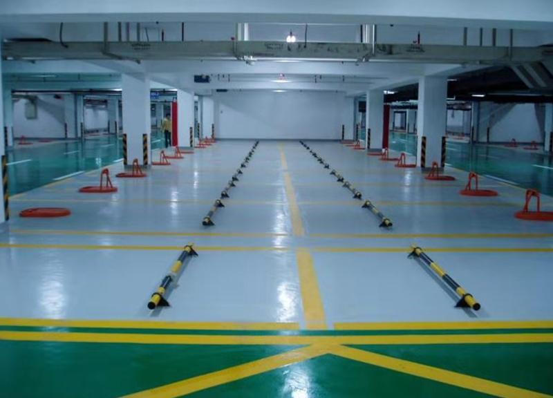 地下停車場耐磨環氧地坪