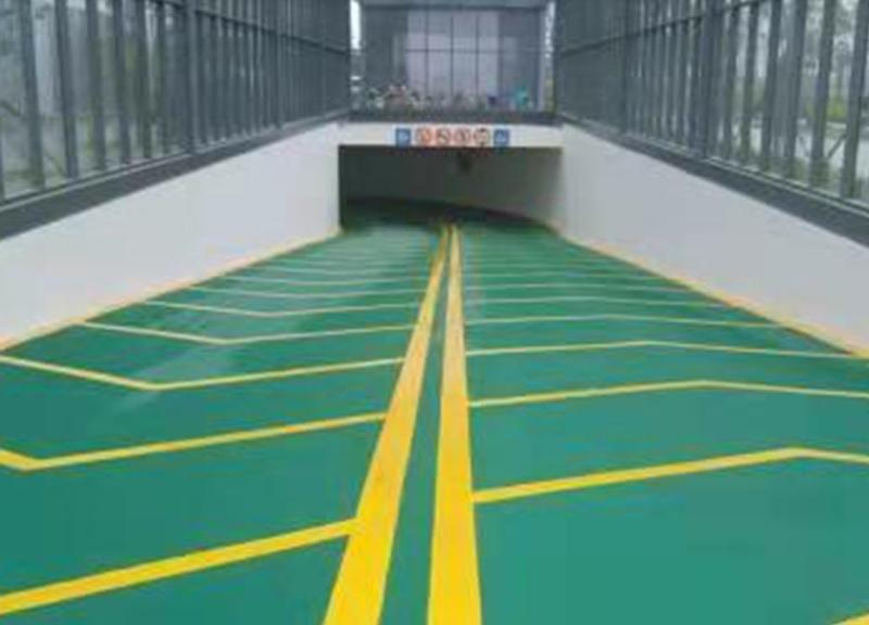 無振動防滑坡道