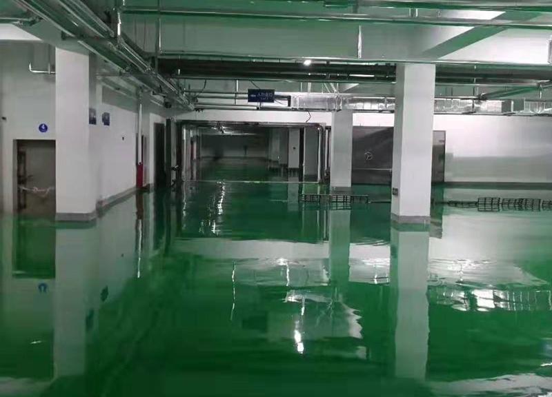 地下停車場自流平