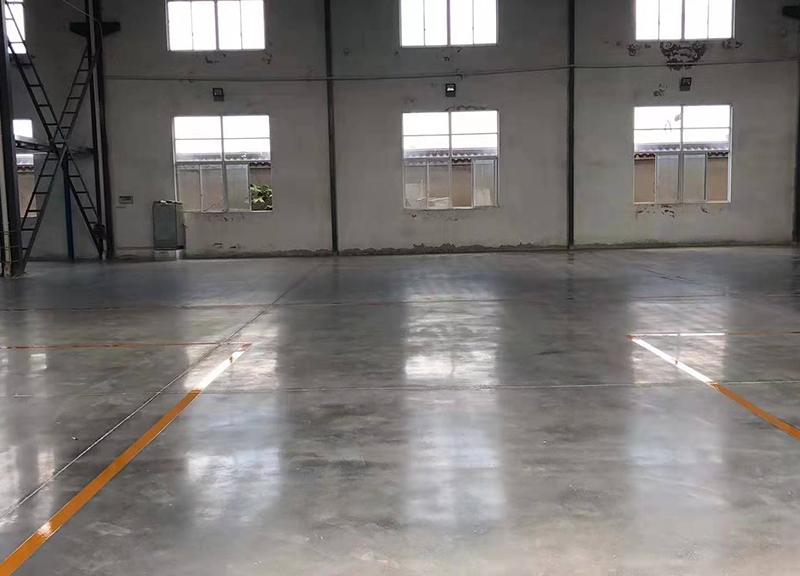 本色固化劑地坪工程